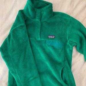 Patagonia Kelly Green Fleece Pullover